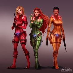 All Grown Up: Totally Spies by IsaiahStephens.deviantart.com on @deviantART