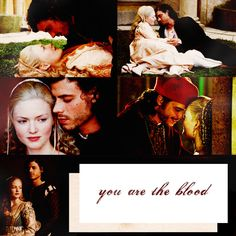"Lucrezia: ""Don't hate me."" Cesare: ""I regret many feelings towards you, hate is not one of them.""  Cesare: ""The whole world whispers, you and I are lovers. Should we prove them right?""  Lucrezia: ""I want to die, brother."" Cesare: ""Will you not talk like that, please!""  Cesare: ""Can I hold him?"" Lucrezia: ""And wake him? That would be cruelty indeed."" Cesare: ""I must hold you then."""