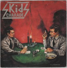 "The Skids - Charade, 7"" vinyl single, Virgin records, c.1979, punk, new wave #vinyl"