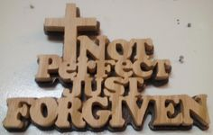 Not Perfect Just Forgiven by tdarizona on Etsy, $19.00