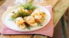 Australian House & Garden recipe for yabbies on sourdough with lemon myrtle mayo.