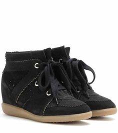 Étoile Bobby suede wedge sneakers | Isabel Marant
