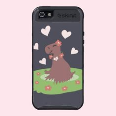 #Capybara in #Love #Cover For #iPhone #5