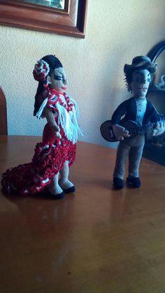 Flamencos amigurumi