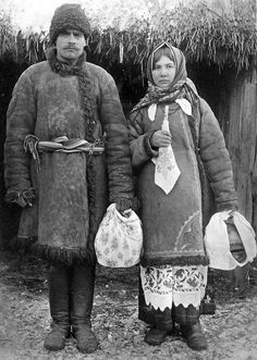FolkCostume&Embroidery: Costume with Andarak, North Chernyhiw Province, Ukraine Antique Photos, Vintage Photographs, Old Photos, Vintage Photos, Folk Costume, Costumes, Fort Ross, Wooly Bully, Ukrainian Dress