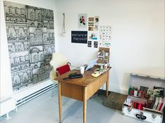 My studio space