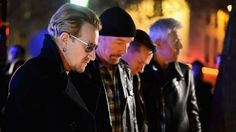 Motorhead, Coldplay and Foo Fighters join U2 in cancelling gigs in the wake of the Paris attacks which left 129 people dead.