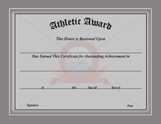 Free printable football certificate templates bing images sports certificate template yelopaper