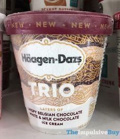 Haagen-Dazs Trio White & Milk Chocolate Ice Cream