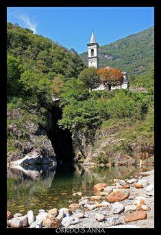 L'orrido di Sant'Anna in Cannobio, Verbania, Piedmont_ Italy