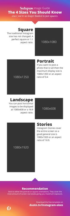 The ideal image sizes for posting to Instagram. Handy #infographic plus downloadable templates to make Instagram image creation super quick and easy!