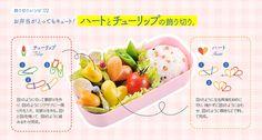 "inaiinaibaa: ""おかずは切るだけ簡単!子供が喜ぶかわいいお弁当 """