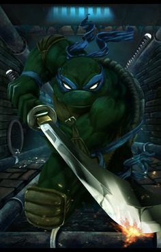 TMNT...you don't not pin the turtles!!!