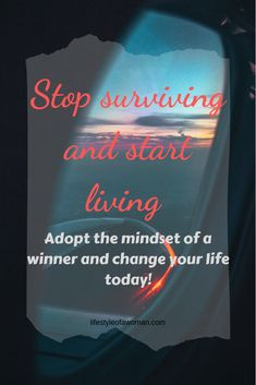 Learn how to become a winner and achieve all of your goals and dreams. Use these tips to become the person you always wanted to be. The perfect life has never been closer. Appreciate What You Have, What You Can Do, Motivational Stories, Emotional Pain, Change Your Mindset, Meaning Of Life, Negative Thoughts, Life Advice, Make Money Blogging