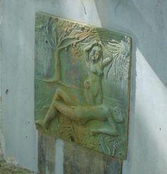 La fontaine parc de belle frise à Champagnole. Jura