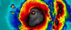 Noticias ao Minuto - NASA divulga imagem 'assustadora' do furacão Matthew