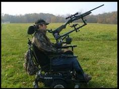 Hunting has always been a passion of mine and adapting hunting to those where it isn't as easy to shoot, I think is really cool. They individual doesn't have to hold onto the gun and only has to pull the trigger.>>> See it. Believe it. Do it. Watch thousands of spinal cord injury videos at SPINALpedia.com