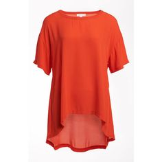 Leith Oversize High/Low Tee ($48) ❤ liked on Polyvore