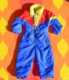 vintage 70s SNOW SUIT rainbow ski sears snowsuit pants jacket Best Ski  Jacket 2cba7ea6b