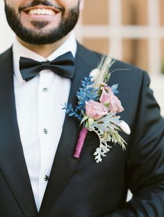 Blue Boutonniere, Boutonnieres, Wedding Looks, Our Wedding, Excited Face, Shades Of White, Convention Centre, Wedding Moments, Color Themes