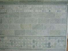 3 x 6 Ming Green Marble Field Tiles in Polished Finish 3 x 6 Ming Green Marble Field Tile for Bathroom Flooring - Marble Bathroom Dreams Marble Tile Backsplash, Marble Subway Tiles, Subway Tile Kitchen, Kitchen Backsplash, Travertine Tile, Bath Tiles, Bathroom Floor Tiles, Bathroom Marble, Subway Tile Colors