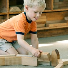 """""""There are no standards written that cannot be supported through play, especially scaffolded play with blocks."""" Wow!"""