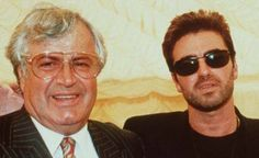 George Michael and his father, jem