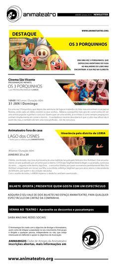 Os 3 PORQUINHOS vêm até ao Cinema São Vicente viver uma outra aventura, este Domingo pelas 16H. Quem quer juntar-se a nós?