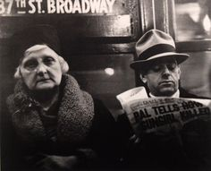 Walker Evans - Subway passengers - 2