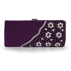 #Beautiful Silk #Handbag With Nice #Beading And #Rhinestones With Cheapest Price $43.98 Offered By Prinkko