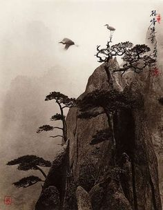Amazing landscape photograph resemble traditional Chinese paintings by Don Hong-Oai