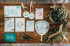 Custom Wedding Stationery, Chalkboards & Timber Signs – Fox & Fallow