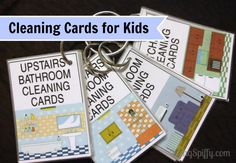 beingspiffy - Home - Cleaning Cards for Kids