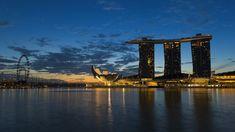 Marina Bay Sands, Singapore, Architecture, Building, Travel, Arquitetura, Viajes, Buildings, Traveling
