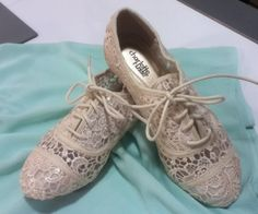 Cute lace shoes from Forever 21