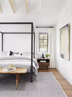 If you're a city dweller, you probably know that space is a luxury. We checked with interior design experts to find out what tips they had to offer for making your boudoir feel more spacious.
