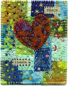 Baumcat: Crazy Quilt Art  this would make a great notebook cover
