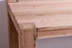 Rustic textures - Oakwood dining table | Rustic furniture, rustic design, rustic home