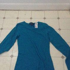 Basic Blue Long Sleeve Tee  New never Worn  Not Actually From Ralph Lauren Ralph Lauren Tops Tees - Long Sleeve