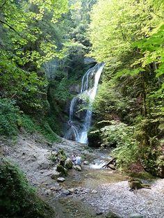 Wasserfalle Niedersonthofen, Bayern