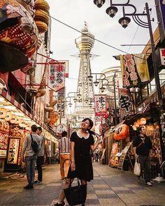 Shinsekai, Osaka Running Away, Osaka, Street View, Journey, Adventure, Blog, Travel, Instagram, Bon Voyage