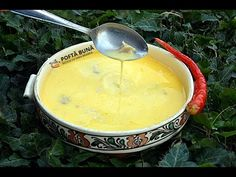 Ciorba de burta (reteta video pas cu pas) | Gina Bradea - YouTube Romanian Food, Hungarian Recipes, Food Videos, Food To Make, Cooking Recipes, Pudding, Homemade, Health, Ethnic Recipes