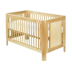 Did you know: Hidden chemicals in nursery furniture and paint can affect your baby's health? This crib is made with non-toxic, low-VOC finishes.