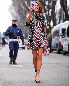 ♡ #AnnaDelloRusso #Streetstyle #lookbook #fashion #chic #style #Italianfashionjournalist #voguejapan #creativeconsultant #MagazineEditor #blogger