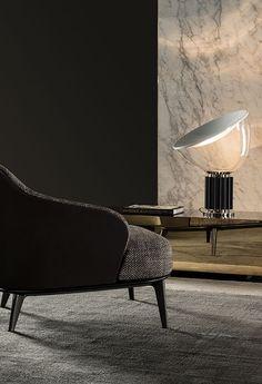 Taccia de @flosnorthamerica possède un réflecteur concave en aluminium filé avec une finition blanche mate. Sa lumière peut être ajustée en positionnant le diffuseur en verre soufflé si nécessaire. Passez nous voir en boutique pour plus de détails! Captain Flint, Patricia Urquiola, Luminaire Design, Lamp Design, Lighting Design, Extruded Aluminum, Aluminium, Concave, Black Table Lamps