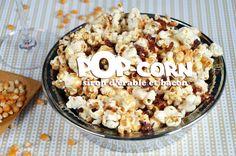 Recette totalement addictive pour l'apéro: du pop-corn sirop d'érable et bacon, un sucré salé croustillant et facile à faire. Un vrai régal pour l'apéritif.