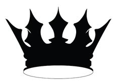 Crown Silhouette Vector Download Crown Vector Silhouette Graphics