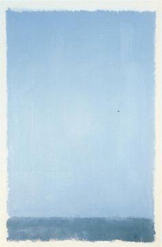 """Untitled"", 1969, Mark Rothko."