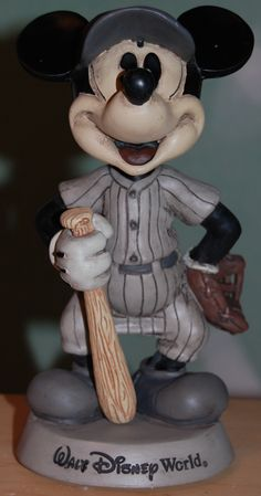 Mickey Mouse Batter Bobblehead