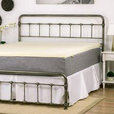 ultra soft 2inch visco elastic memory foam mattress pad bed topper